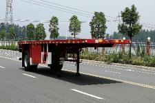 广大鸿远8.6米15.3吨1轴平板运输半挂车(GHY9180TPB)