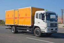国五东风天锦一排半带卧铺易燃气体厢式运输车价格直降8000