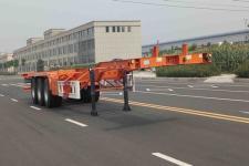 广大鸿远12.5米35.2吨3轴集装箱运输半挂车(GHY9406TJZ)