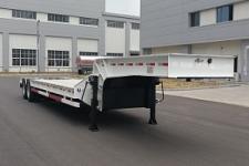 天明12.5米28.9吨4轴低平板半挂车(TM9405TDPA)