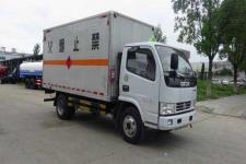 东风多利卡4米2国五易燃气体厢式运输车价格 13607286060