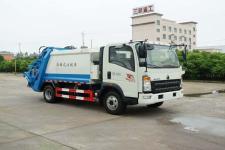 国五重汽豪沃压缩式垃圾车  13797889952