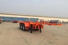 昌骅8.5米35.3吨3轴危险品罐箱骨架运输半挂车(HCH9406TWY20)