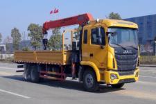 大力牌DLQ5181JSQHFCZY5型随车起重运输车