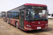 紫象牌HQK6188BEVB1型纯电动铰接城市客车图片