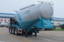 盛润8.5米32.8吨3轴干拌砂浆运输半挂车(SKW9400GSJ)