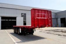 通泰鼎盛8米35.4吨3轴平板运输半挂车(TZL9400TPB)