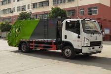 程力威牌CLW5140ZYSS5型压缩式垃圾车