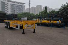通华12.4米34.3吨3轴高压气体长管骨架半挂车(THT9402TGYA)