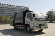 福田藍牌4方壓縮式垃圾車價格 C證可開
