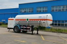 查特7.4米11.8吨1轴低温液体运输半挂车(CTZ9182GDY)
