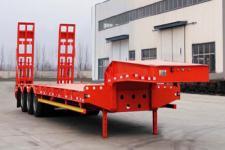 辉煌事业10.5米28.8吨3轴低平板半挂车(DHH9373TDP)