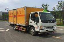江淮5噸易燃液體廂式運輸車