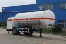 查特7.2米11.8吨1轴低温液体运输半挂车(CTZ9181GDY)