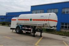 查特7.3米9.8吨1轴二氧化碳运输半挂车(CTZ9180GYU)