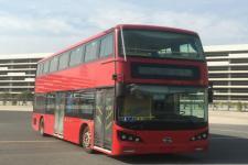 比亚迪牌BYD6100LSEV4型纯电动低入口双层城市客车图片