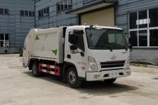 四川現代6方壓縮式垃圾車價格