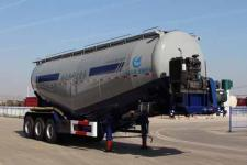 开乐10.5米30.3吨3轴低密度粉粒物料运输半挂车(AKL9401GFLA9)