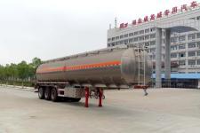 楚飞12.2米33.2吨3轴铝合金运油半挂车(CLQ9400GYYBA)