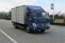 福田奥铃国五单桥厢式运输车110马力5吨以下(BJ5049XXY-C1)