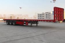 通勤12米33.5吨3平板半挂车