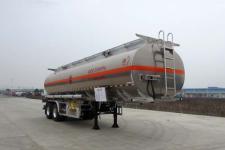 楚胜10.4米29.5吨2铝合金运油半挂车