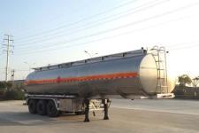 楚飞11米33.2吨3铝合金运油半挂车