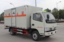 東風4米2雜項危險物品廂式運輸車