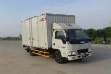 江铃汽车国五单桥厢式运输车116马力5吨以下(JX5044XXYXGY2)