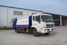 国五东风天锦压缩式垃圾车13607286060