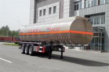 黄海11.8米33吨3轴铝合金运油半挂车(DD9400GYYA)
