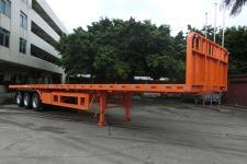 明威13米32吨3轴平板运输半挂车(NHG9402TPB)