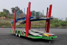 劳安11.1米7.3吨2轴中置轴车辆运输挂车(LR9156TCL)