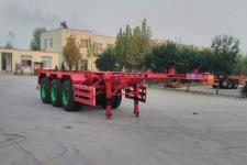 麟州7.8米34.8吨3轴集装箱运输半挂车(YDZ9408TJZ)