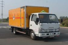 多士星国五单桥厢式货车98马力5吨以下(JHW5040XZWQ)