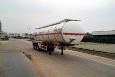 万事达12.9米30.4吨3轴易燃液体罐式运输半挂车(SDW9409GRY)