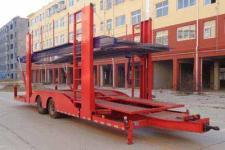 程力威11米7.3吨2轴中置轴车辆运输挂车(CLW9150TCL)