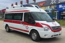 福特V348高福星顶监护型救护车13607286060