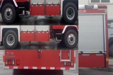 川消牌SXF5161GXFGF40型干粉消防车图片