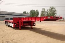 中郓畅达12.5米33吨3轴低平板半挂车(XSQ9402TDP)