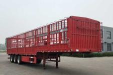 万里盈12米33.7吨3轴仓栅式运输半挂车(HCB9400CCYE)