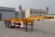 曙岳牌DSY9400TJZE40型集装箱运输半挂车图片