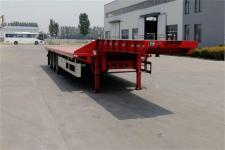 霸申特13米33.2噸3軸低平板半掛車(BST9401TDP)
