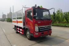 重汽豪沃4米2气瓶运输车