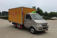 程力威牌CLW5030XRYSC5型易燃液体厢式运输车