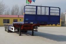 雨辰12米34吨3轴平板运输半挂车(SCD9401TPB)