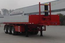 雨辰9.5米32.7吨3轴平板自卸半挂车(SCD9401ZZXP)