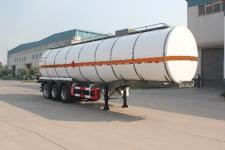 綠葉11.7米30噸3軸化工液體運輸半掛車(JYJ9400GHY)