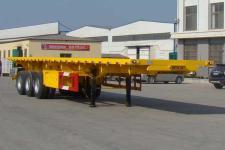 远东汽车12米31.5吨3轴平板自卸半挂车(YDA9403ZZXP)
