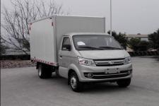 长安跨越国五单桥厢式运输车112马力5吨以下(SC5031XXYFAD52)